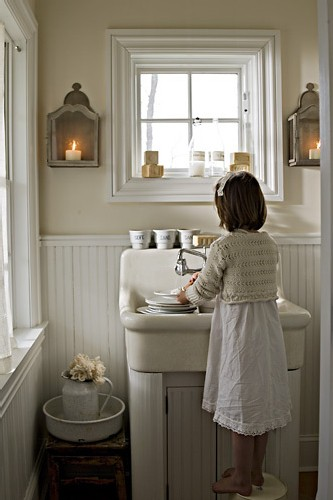 Candle Wall Sconces For Bathroom : Bathroom candle sconces
