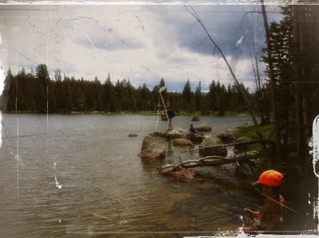 Alpine fishing
