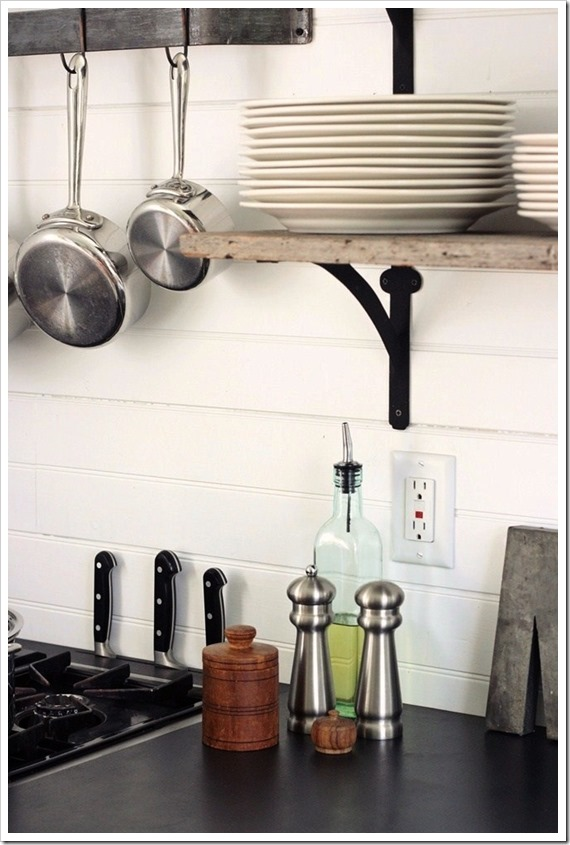 Superb This countertop choice made it easy to integrate the little things like this slotted knife rack I can ut even tell you how much I love having my knives